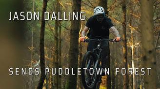 Jason Dalling Sends Puddletown Forest   A MTB Film