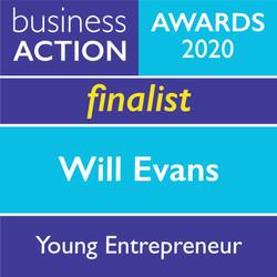 Will Evans Young Entrepreneur Award 2020