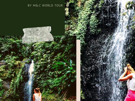 Les plus belles cascades de Martinique,                  top 10 des meilleures chutes d'eau de l'île