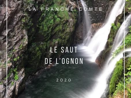 Le Saut de l'Ognon -HAUTE SAONE : la chute d'eau la plus connue des 1000 étangs !