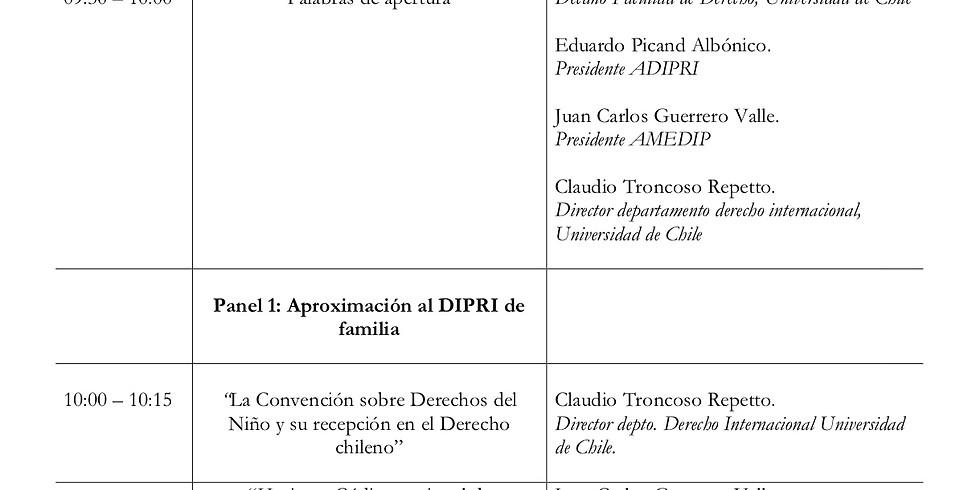 Seminario Derecho Internacional Privado de Familia