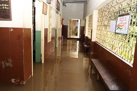 Flooding at Opportunity School - October