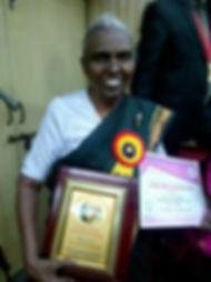 Kasthuri wins the Mother Teresa award 12