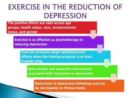 Effects of Aerobic Exercise on Depression