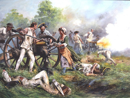Revolutionary War Queen of Artillery  Molly Pitcher