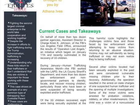 Trafficking Awareness, Tips for Teachers, & Myths