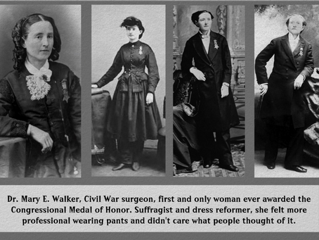 Medal of Honor Recipient Dr. Mary Walker
