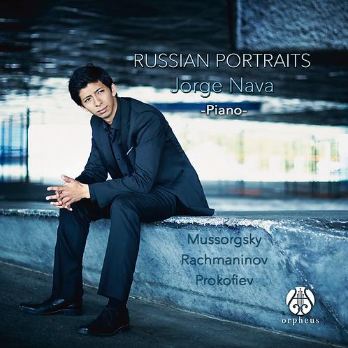 Russian portraits: Jorge Nava