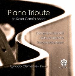 Piano Tribute to Rosa García Ascot