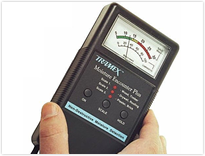 Moisture Meter used for termite inspections