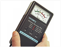 Mositure meter used for termite detection
