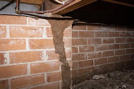 Termite leads in subfloor