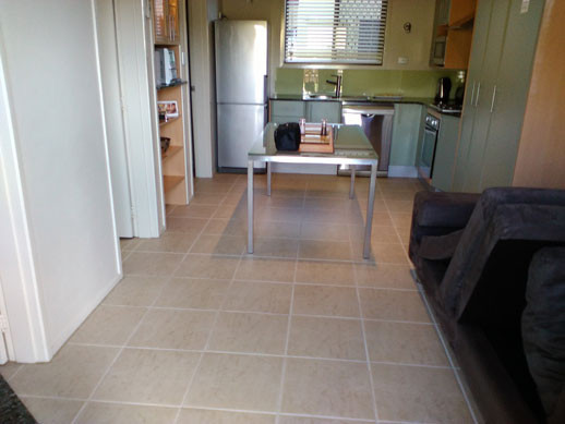 Clean tiles after a professional tile clean