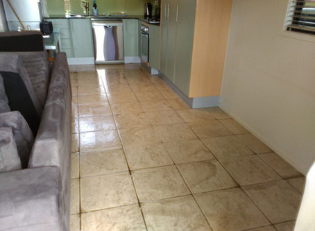 What a difference a Tile and Grout Clean can do