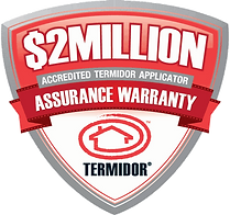 Termidor - 2 million Dollar warranty against termites