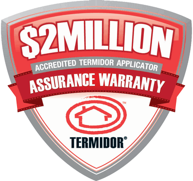 Termidor 2million doller assurance warrantry