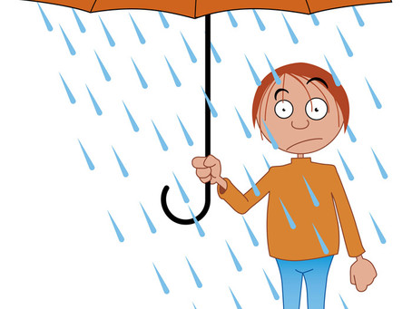 Does rain encourage pests into your home?