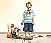 dog stains on carpet