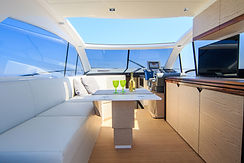 upholstery cleaning on boat