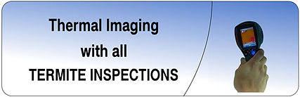 Termite inspections, Thermal imaging Calamval
