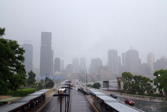 Brisbane rain and termite barriers