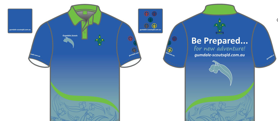 Gumdale Scout Shirts
