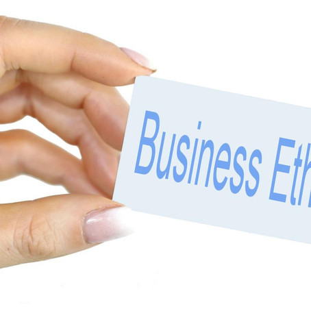 Why is 'Business Ethics' important