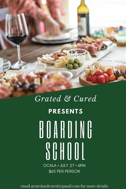 Boarding School - Ocala - July 27
