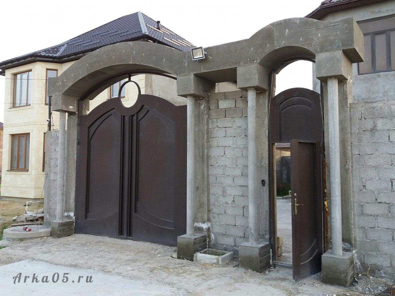 доступный популярный арки для ворот частных домов фото слову, ранее