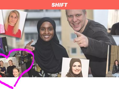 Momentus utvalda bland över 1000 sökande till Breakits initiativ Shift