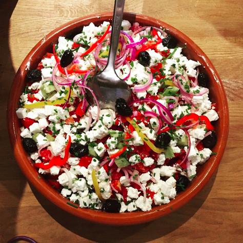La fameuse salade grecque