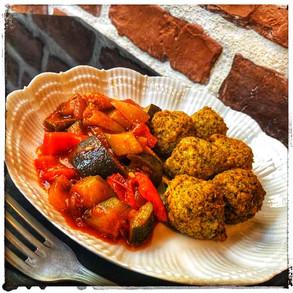 Aujourd'hui laissez vous tenter par des falafels à la provençale :-))