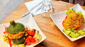 Poivron ou courgette farci végétarien ???