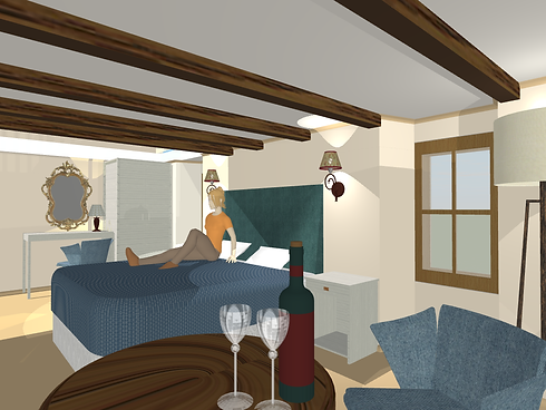 Masons Arms - Room 21-view to bed1.png