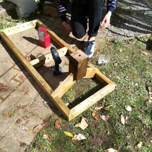 Building the timber structure