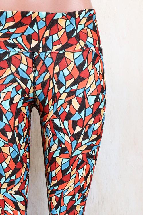 Sixties Mosaic Leggings