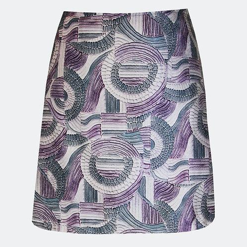 Pathways Purple A-Line Skirt