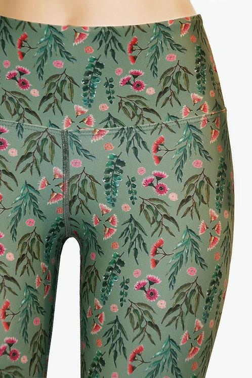 Eucalypt Gum Olive Leggings
