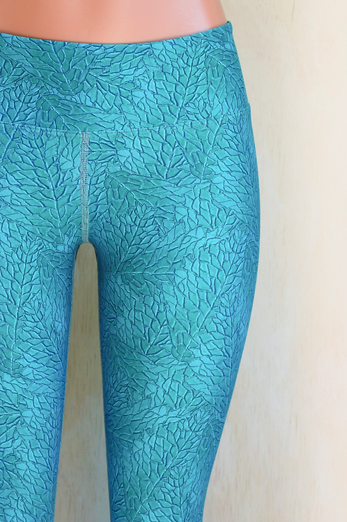 Seasons Sea Blue Leggings