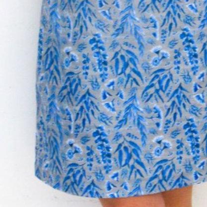 Eucalyptus Gum Blues A-line Skirt
