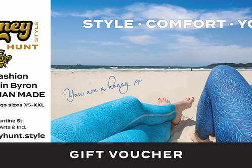Gift Voucher Leggings