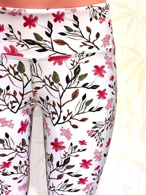 P&H Botanicals White Leggings