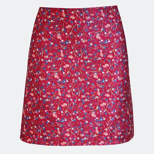 Babies Breath Cerise A-line Skirt