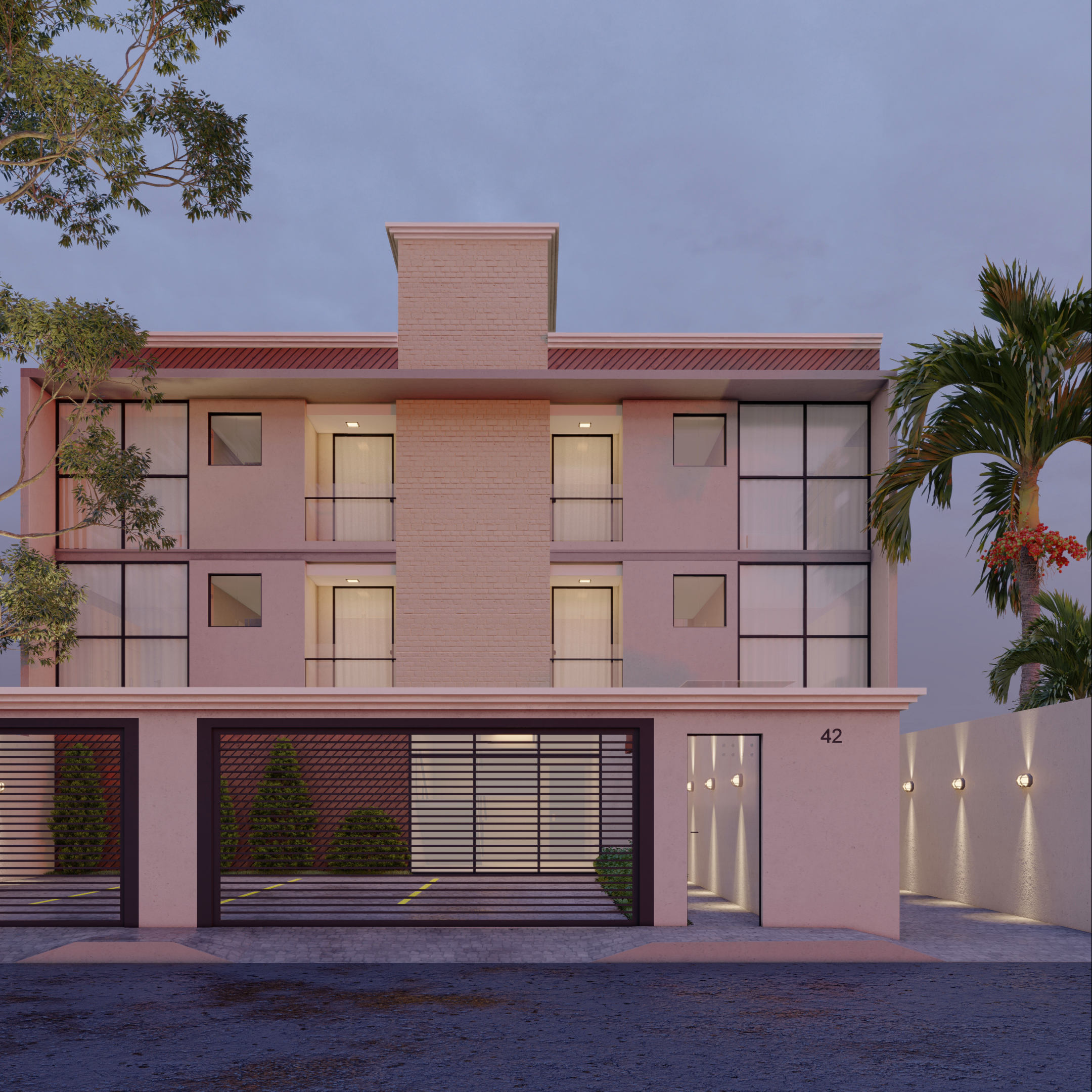 Análise de viabilidade de empreendimento com 16 unidades habitacionais.