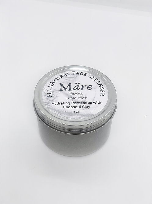 All Natural Face Cleanser Day Lemon Mint Clay