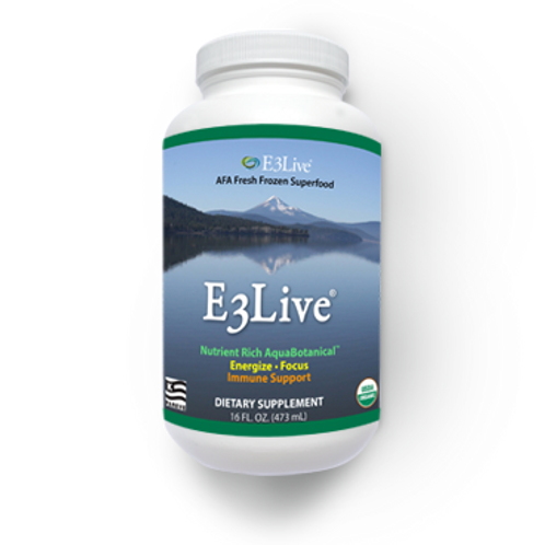 E3 Live Nutritional Algae Power On