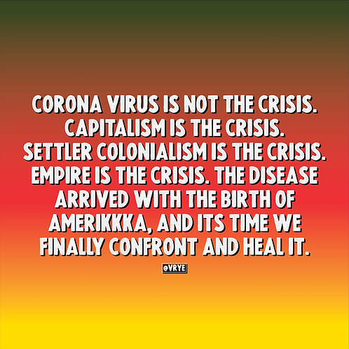 THE REAL CRISIS