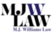 M.J. Williams Law logo