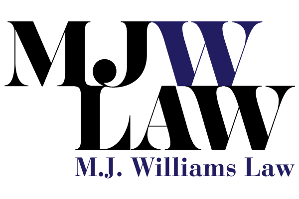 M.J. Williams Law logo
