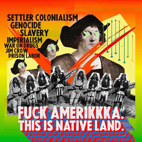 FUCK AMERIKKKA